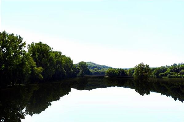 Ein wunderschöner, idyllischer See...