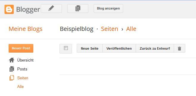 So erstellst du einen Blog bei Blogger...