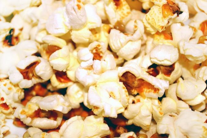 Popcorn und Fernsehabend...