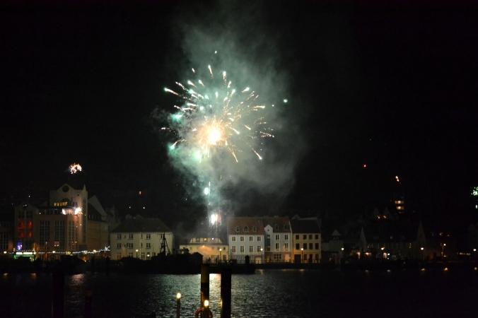 Das Feuerwerk zum Schluss...