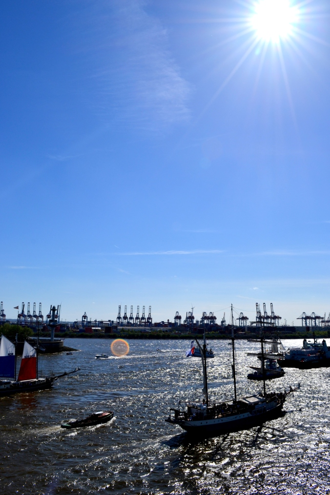 Hafengeburtstag in Hamburg - ein schöner Abschied auf dem Weg auf See...