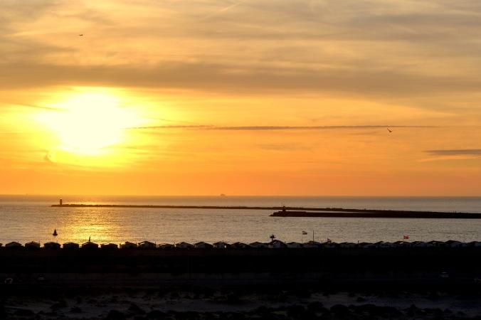 Ich liebe einfach Sonnenuntergänge!