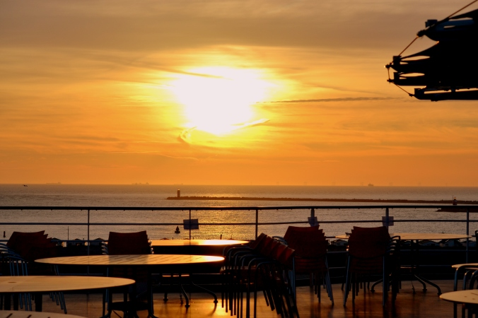 Wie schön die Sonne stand - ein Foto wert!